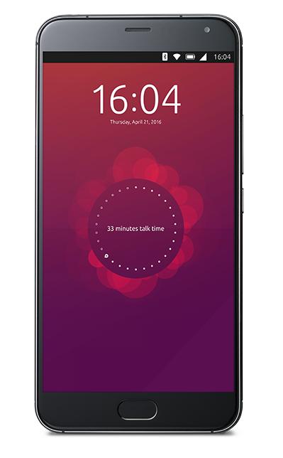 meizu Pro 5 ubuntu phone picture