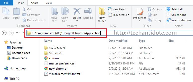 How to fix chrome update loop