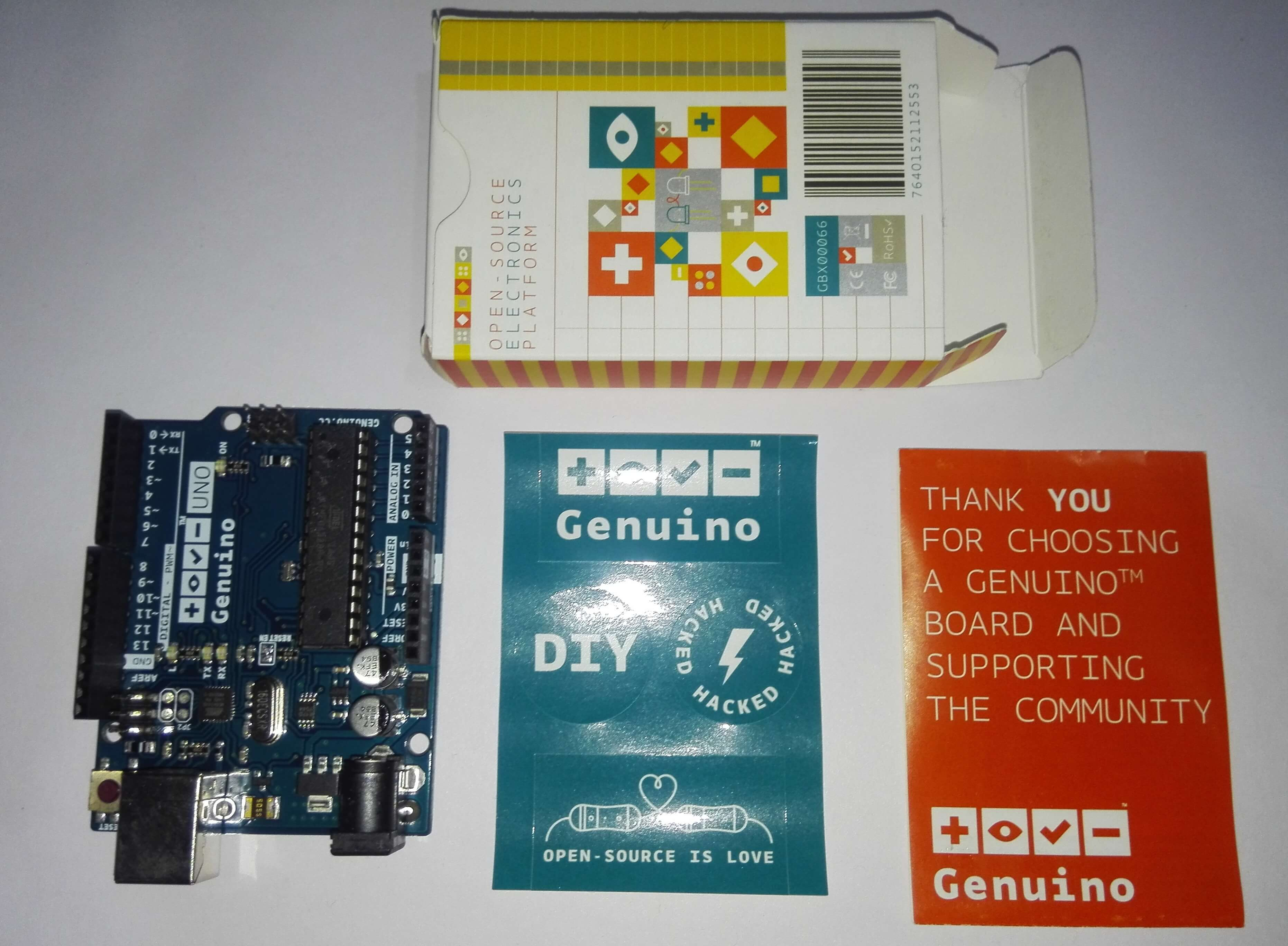 Genuino Uno Rev 3 – A Quick Look