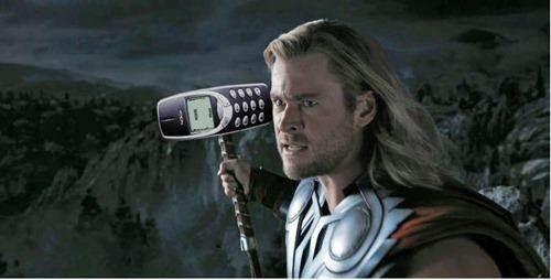Thor's new hammer nokia 3310