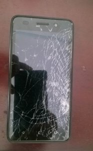 My Honor 4C - broken LCD screen