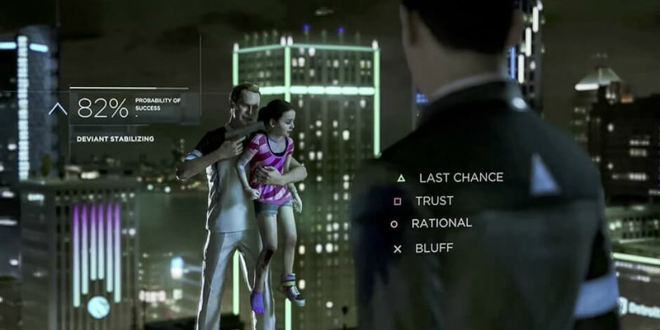 Detroit Become Human choices screenshot gameplay