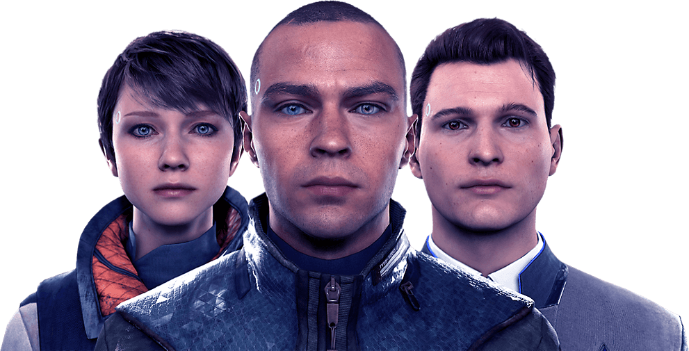 Detroit: Become Human - Main Charactors